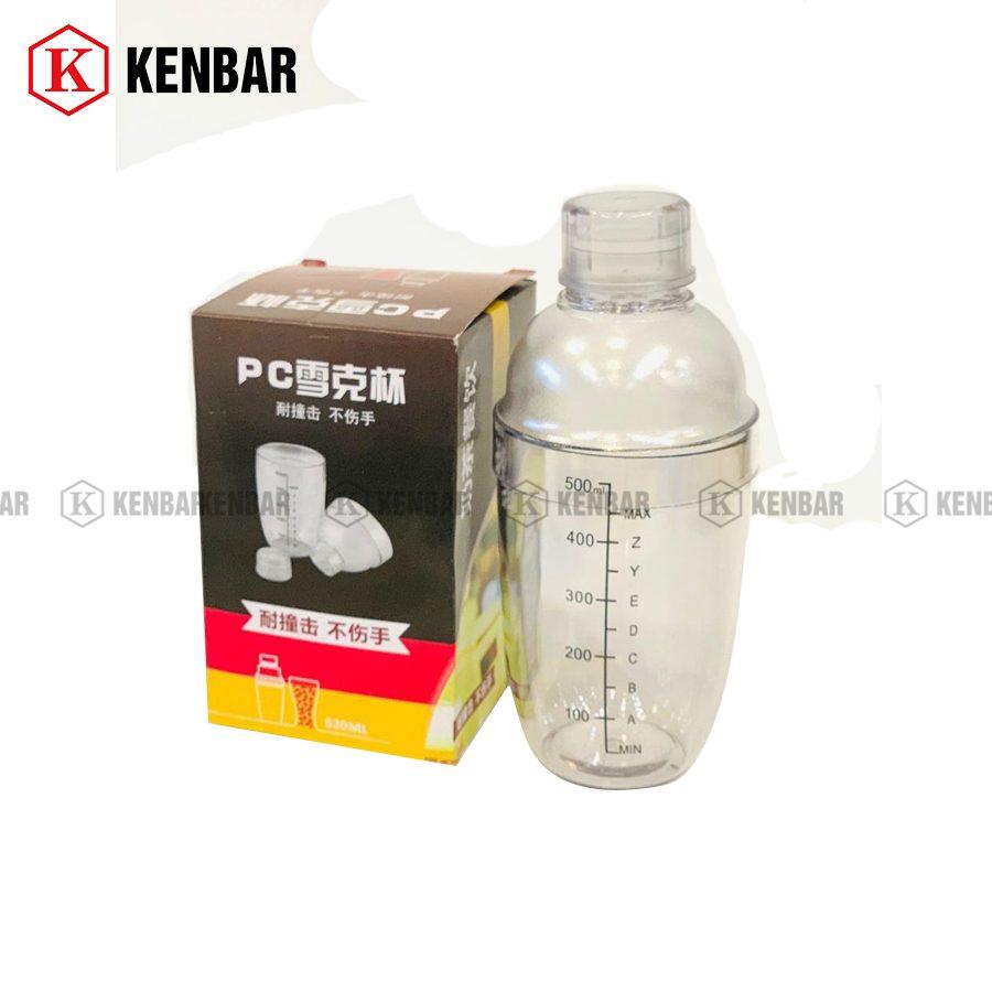 Dc Bình Lắc Nhựa Cao Cấp 500ml - Kenbar