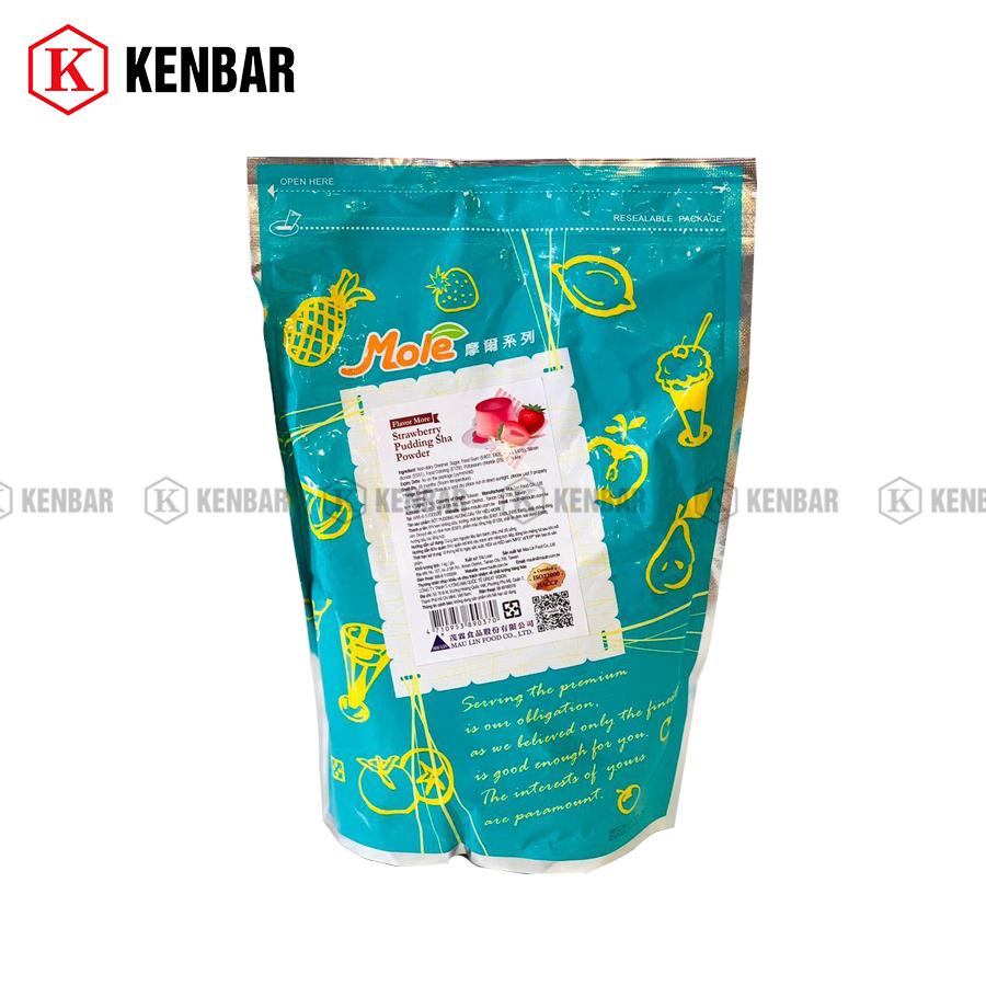 Bột Mole Flan/Pudding Dâu 1kg - Kenbar