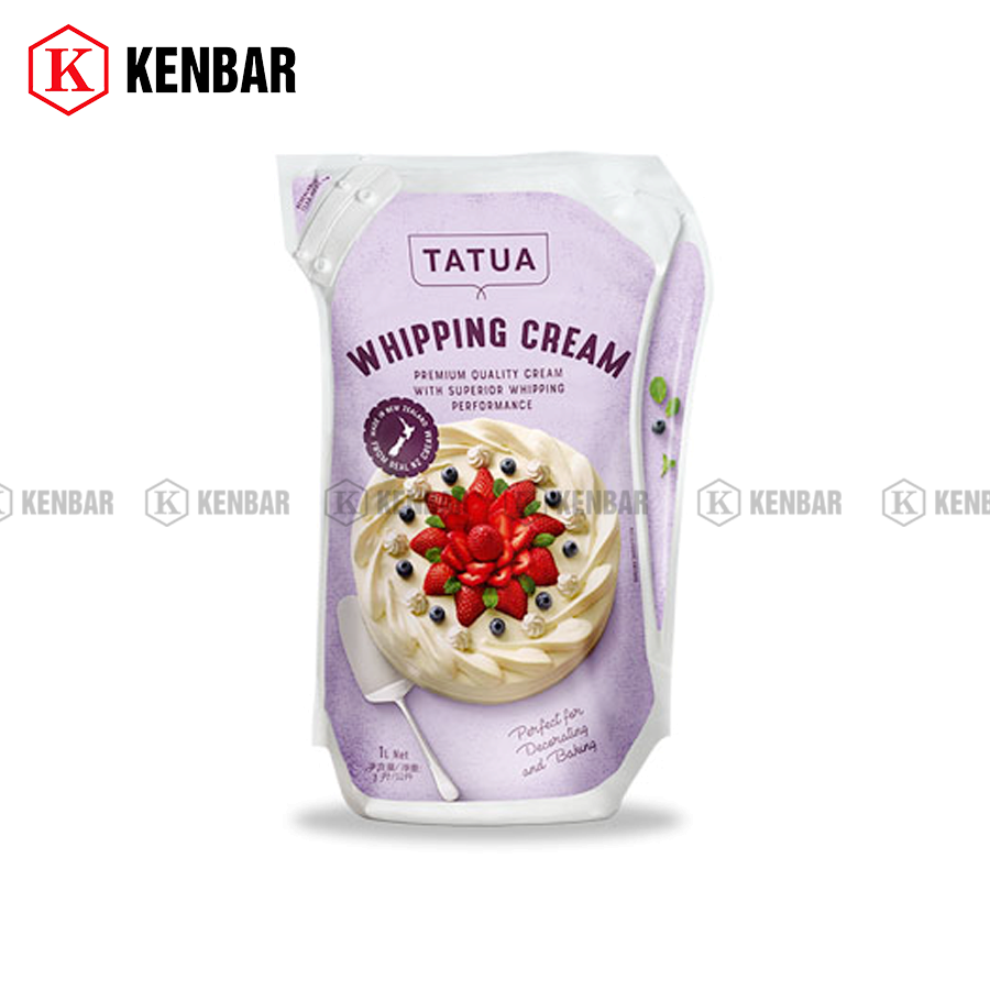 Whipping Cream Tatua 1l - Kenbar